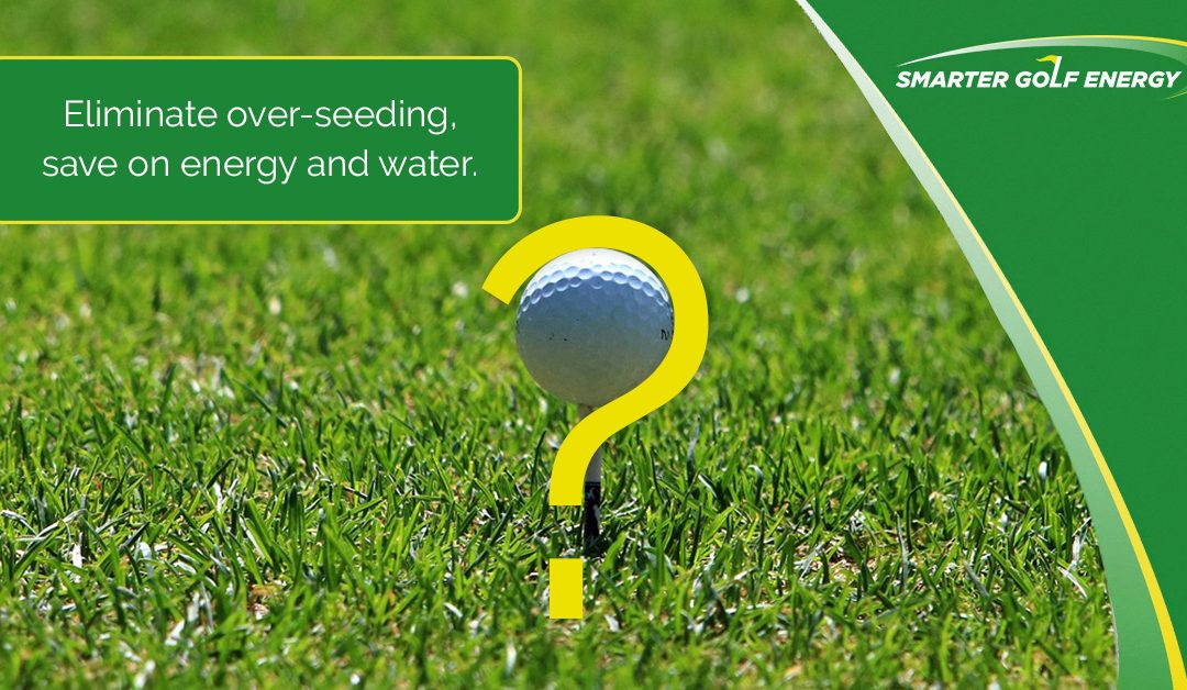 Is your golf course's turf on the cutting edge?