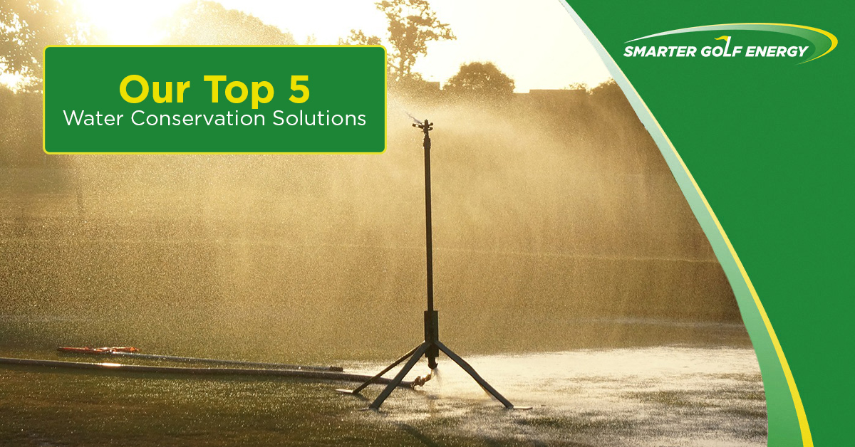 Our Top 5 Water Conservation Solutions: Part 3